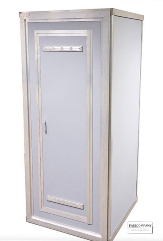 Demontabele binnendouche met boiler